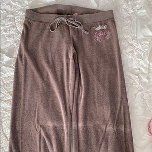 VGUC⭐️ Juicy Couture Velour Track Pants